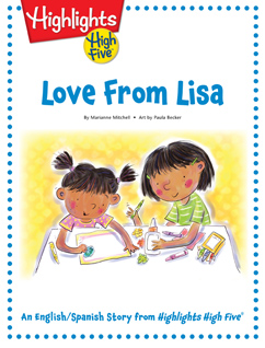 Cover for Love From Lisa
