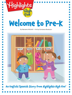 Cover for Welcome to Pre-K