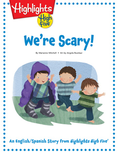 Cover for We're Scary!