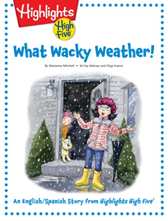 Cover for What Wacky Weather!