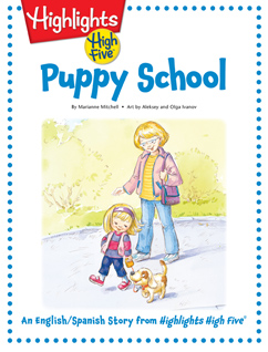 Cover for Puppy School
