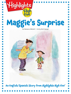 Cover for Maggie's Surprise