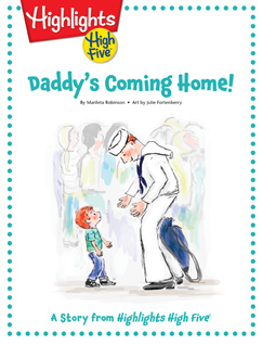 Cover for Daddy's Coming Home!