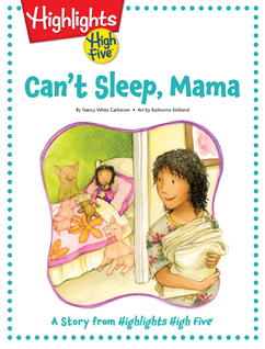Cover for Can't Sleep, Mama