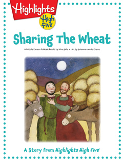 Cover for Sharing the Wheat
