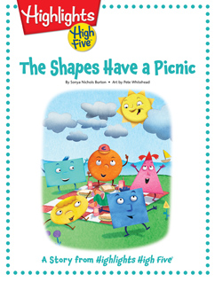 Cover for The Shapes Have a Picnic