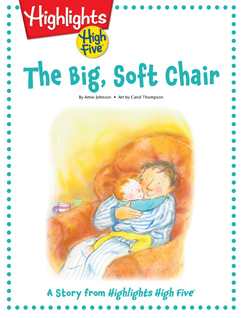 Cover for The Big, Soft Chair