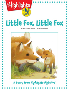 Cover for Little Fox, Little Fox