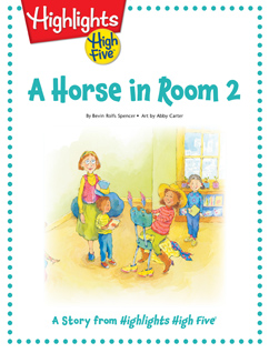 Cover for A Horse in Room 2