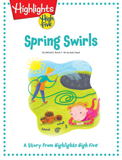 Cover for Spring Swirls