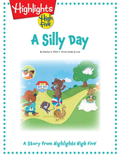 Cover for A Silly Day