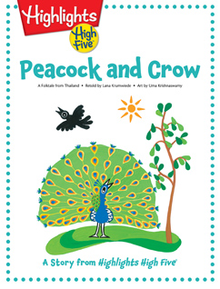 Cover for Peacock and Crow