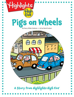 Cover for Pigs on Wheels