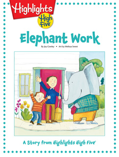Cover for Elephant Work