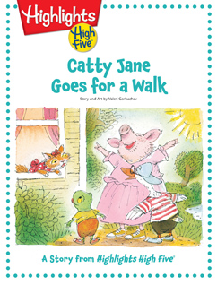 Cover for Catty Jane Goes for a Walk