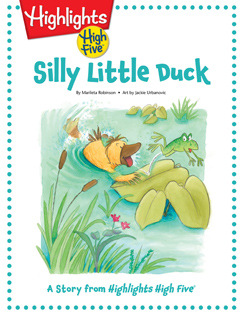 Cover for Silly Little Duck