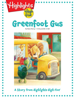 Cover for Greenfoot Gus