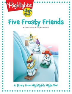 Cover for Five Frosty Friends