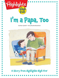 Cover for I'm a Papa, Too