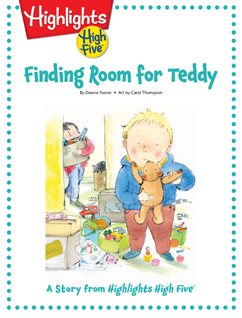 Cover for Finding Room for Teddy