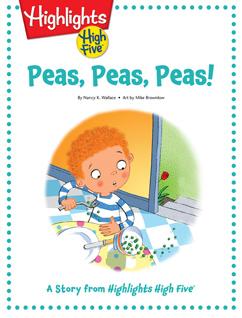 Cover for Peas, Peas, Peas!