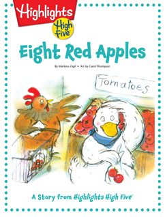Cover for Eight Red Apples