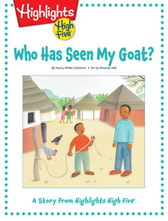 Cover for Who Has Seen My Goat?