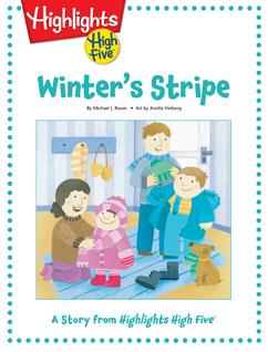 Cover for Winter's Stripe
