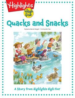 Cover for Quacks and Snacks