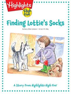Cover for Finding Lottie's Socks
