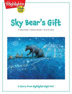 Cover for Sky Bear's Gift