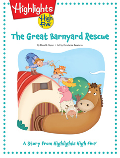 Cover for The Great Barnyard Rescue