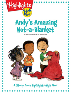 Cover for Andy's Amazing Not-a-Blanket