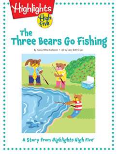 Cover for The Three Bears Go Fishing