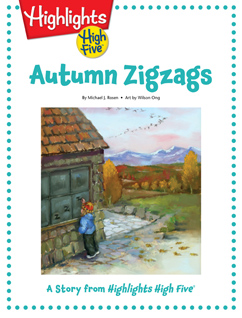 Cover for Autumn Zigzags