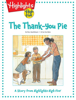 Cover for The Thank-You Pie