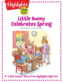 Cover for Little Bunny Celebrates Spring