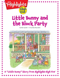 Cover for Little Bunny and the Block Party