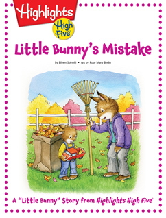 Cover for Little Bunny's Mistake