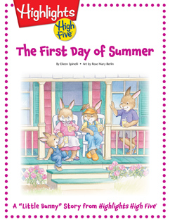 Cover for The First Day of Summer