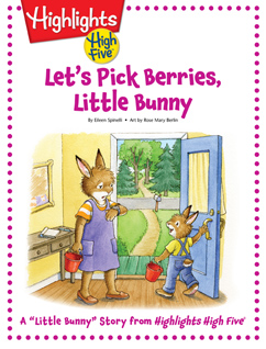 Cover for Let's Pick Berries, Little Bunny