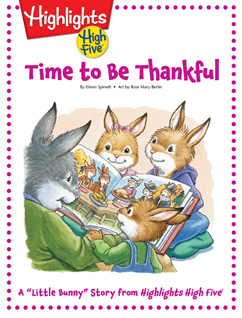 Cover for Time to be Thankful