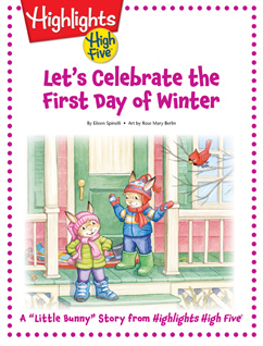 Cover for Let's Celebrate the First Day of Winter