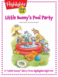 Cover for Little Bunny's Pool Party