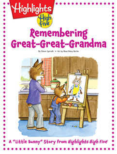 Cover for Remembering Great-Great Grandma