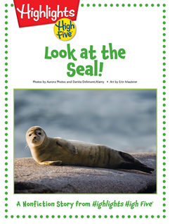 Cover for Look at the Seal!