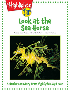 Cover for Look at the Sea Horse