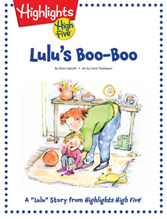 Cover for Lulu's Boo-Boo