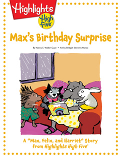 Cover for Max's Birthday Surprise