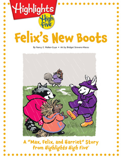 Cover for Felix's New Boots